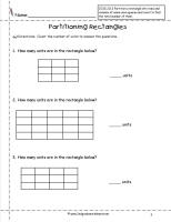 partition rectangles worksheet