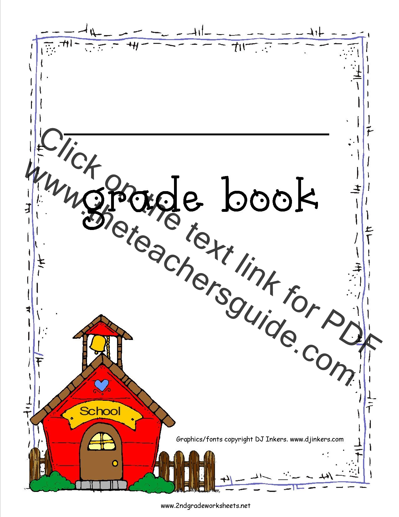 photograph about Printable Grade Books named Free of charge Quality Guide Printouts