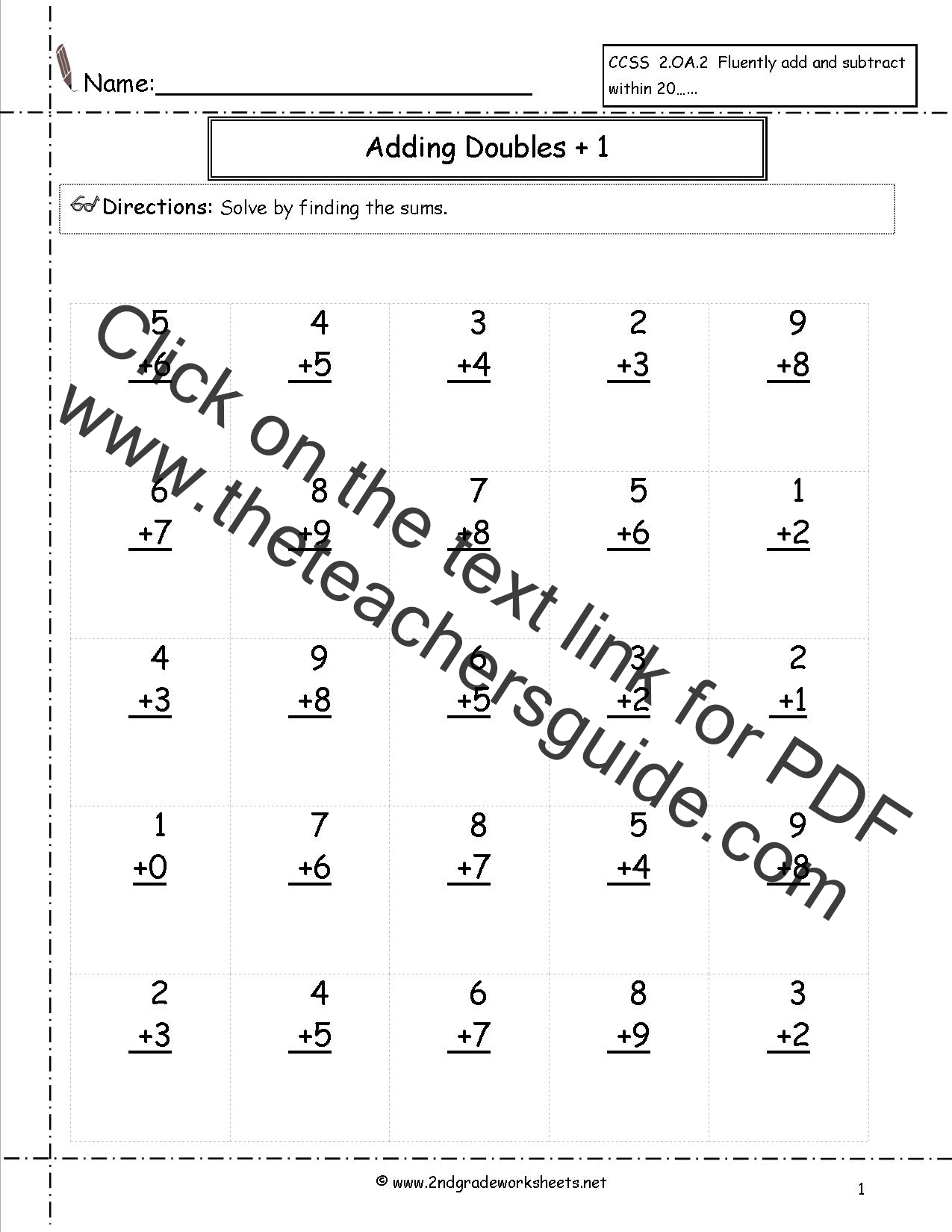 Worksheet Math Facts For First Grade Mikyu Free Worksheet – First Grade Math Facts Worksheets