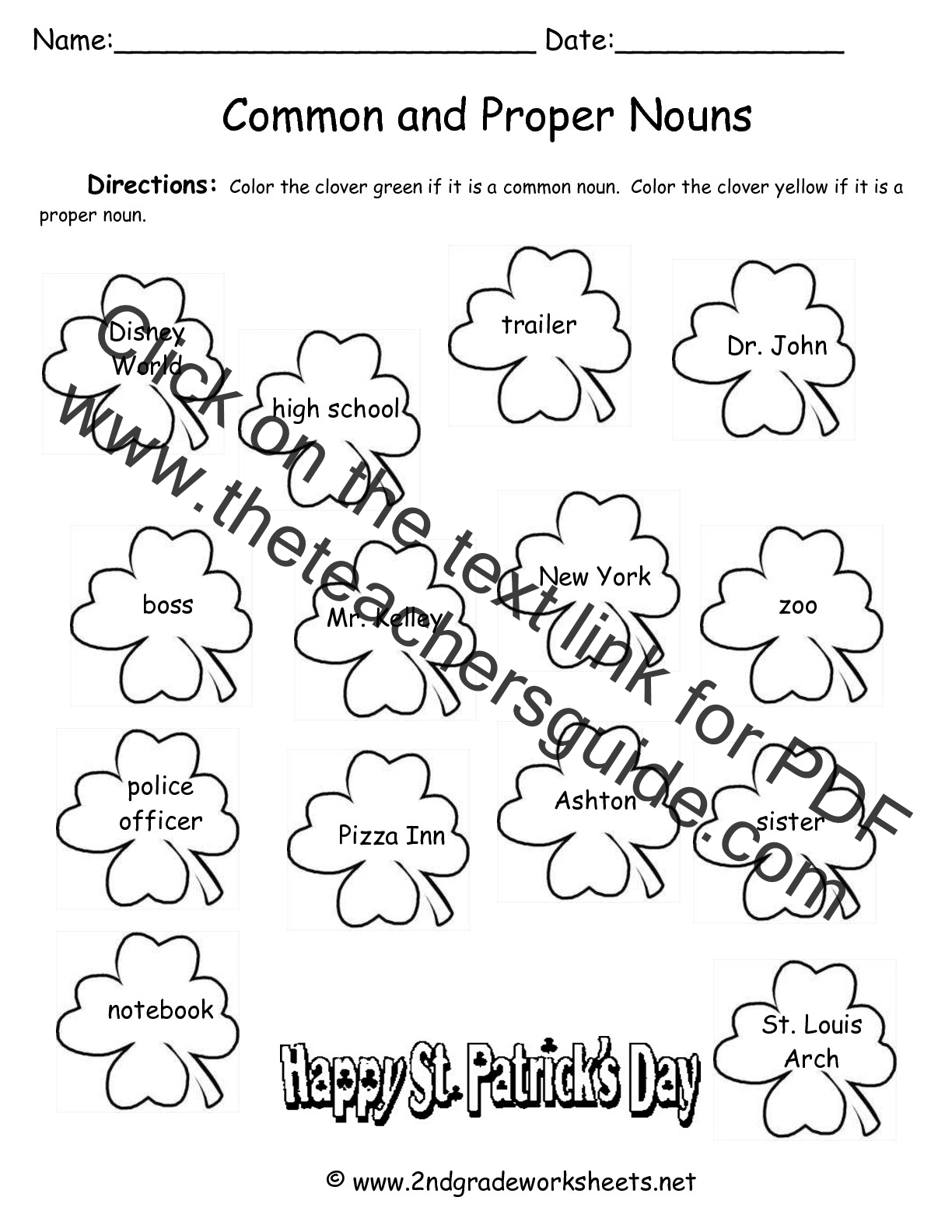 Noun Worksheet Kindergarten jolly grammar activities and – Proper Nouns Worksheet